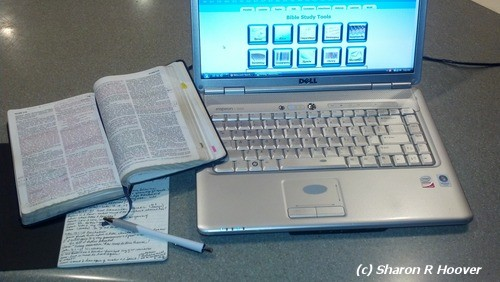 Your laptop can become a most valuable bible study resource.